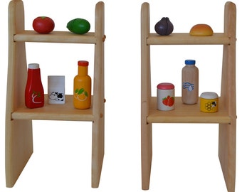 Elves and Angels David's Waldorf Playstand Shelves