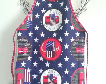 Star child apron, school apron, apron, apron, artist painter apron, apron, laminated, waterproof apron