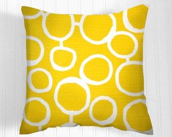 YELLOW  Pillow Cover- Decorative Pillows   -  Decorative Throw Pillow- Pillow Covers   Accent Nursery