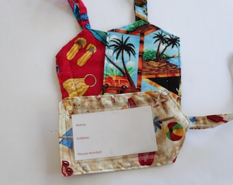 luggage tags//beach luggage tags//summer luggage tags