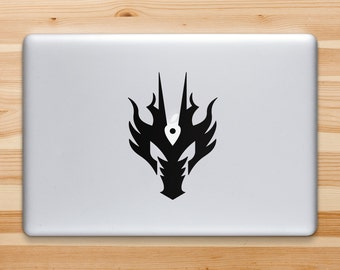 Dragon Decal, Dragon Sticker for iPad iPhone MacBook Or Walls and Cars