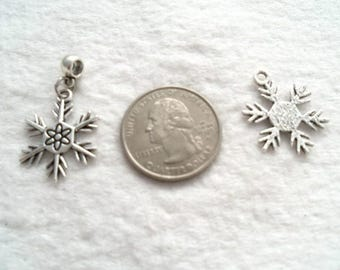 25 mm Snowflake Dangle (1670)