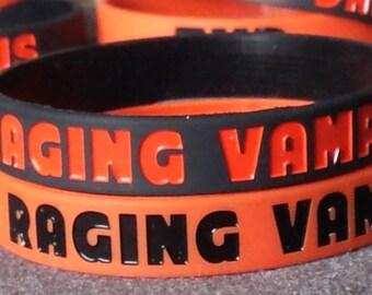 Raging Vampireholic Silicone Wristband