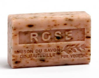 Rose  Soap Triple Milled french moisturizing soap
