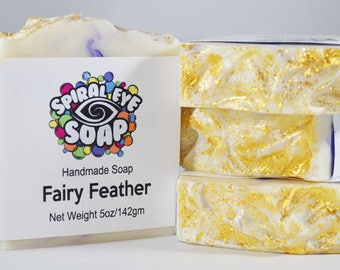 Fairy Feather - Handmade Soap