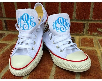 Monogrammed Converse LOW TOP All-Stars Shoes/Sneakers
