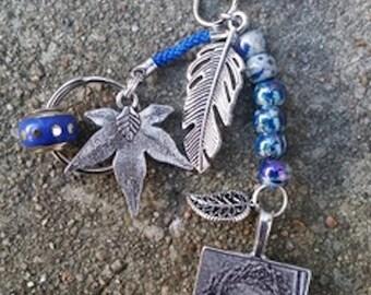 Published necklace bracelet + keychain