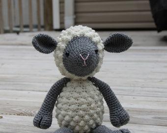Toy Sheep, Crochet Sheep, Crochet Lamb, Amigurumi Sheep, Amigurumi Lamb, Crochet Toy Sheep, Plush Animal, Stuffed Animal, Mrs Vs Crochet