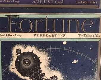 Two Fortune Magazines (1936)
