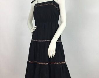 60s 70s Young Edwardian by Anpeja/anpeja midi dress