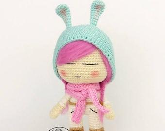 Olivia crochet doll