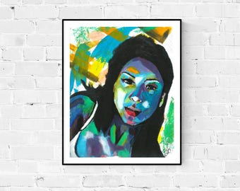 Modern Art Print; Contemporary Art; Colourful Wall Art; Abstract Painting
