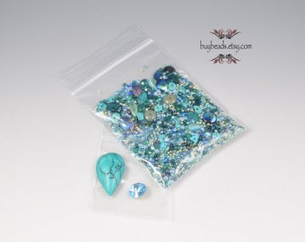 Inspiration Kit #2, Polymer Clay, Beads, Crystals