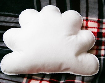 White Cloud Cushion, Cloud Shape Pillow, Cloud Shape Plushie, Cloud Nursery, Kids Room Decor, Baby Room Decor, Kids Cushion, Cloud Gift