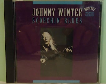 "012118 04 Used Johnny Winter ""Scorchin' Blues"" CD Epic ZK 52466"