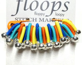 Choose size -  'Holland' - soft flexible FLOOPS knitting stitch markers