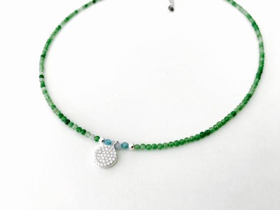 Mini gem choker and Stones N1