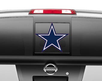 Dallas Cowboys Star navy and white Decal different sizes