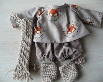 Set for Doll or Bunny fabric