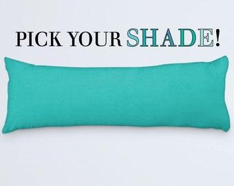 Purple Body Pillow 20x54 Body Pillow Cover Lilac Tulip