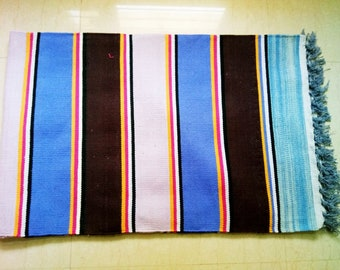 Multi color Stripe Rug