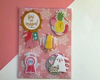 handmade embellishments - weheartconfetti