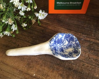 Spoon - Ceramic small scoop