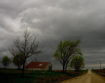 Stormy Homestead - Original Fine Art Photograph 20x30