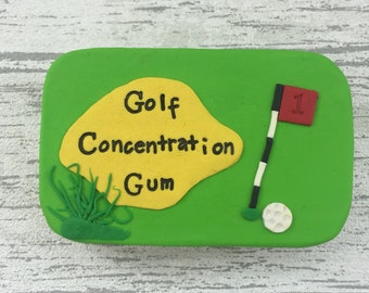 Chewing gum tin, personalised box