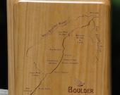BOULDER RIVER MAP Fly Box...