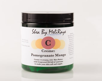 Creme: Pomegranate Mango Whipped Shea Butter