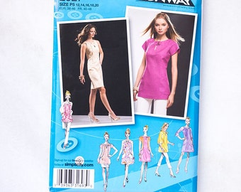 Misses Dress Tunic Uncut Sewing Patterns Simplicity Patterns Project Runway Patterns 2927 P5