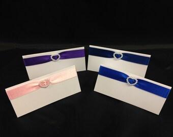 Handmade placecards in packs of 5