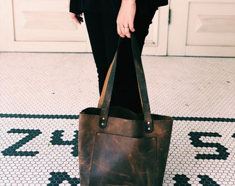 Leather Tote (The Keen)