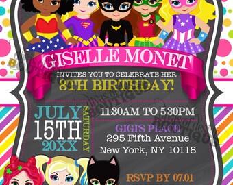 GISELLE - Superhero Invitation