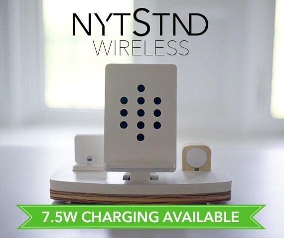 optional f gen sie wireless charging zu jedem nytstnd f r. Black Bedroom Furniture Sets. Home Design Ideas
