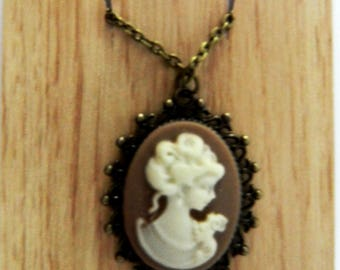 Victorian Silhouette Necklace