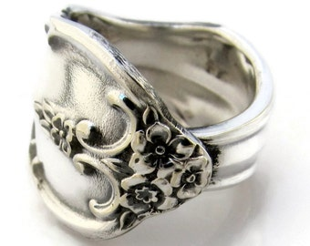Silver Spoon Ring Choose Your Size Southern Splendor