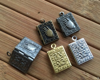 Mini Book LOCKET 14x10 mm  - Code 143.934