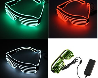 Led Lights Up Glasses For New York Eve Parties Weddings Outdoors Indoors Night Shows And Activities Party Favor