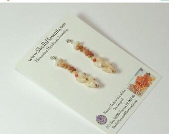 1 3/8 Momi and Kahelelani shell earrings #193