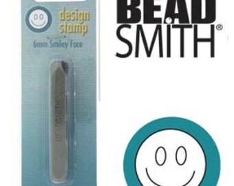 Smiley Face Design Stamp-Metal Design Stamp--Brand New-Steel Stamp for Metalwork- 6mm