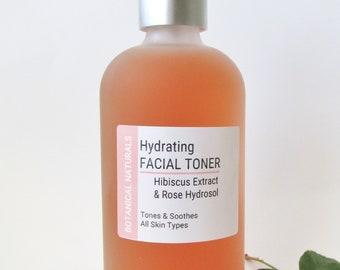 Hibiscus & Rose Facial Toner