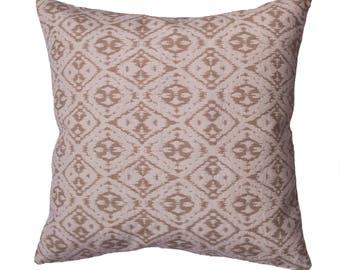 Cushion/sofa cushion 40 x 40 cm, Jaquardmaterial, cream beige