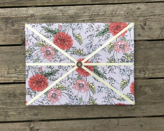 Pink Flower Fabric Board w/ Yellow Ribbon (SC)