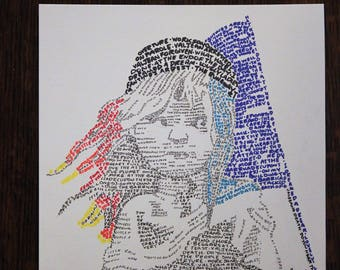 Les Miserables Word Art | Musical | Broadway Art