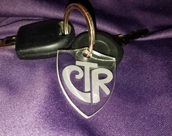 CTR Shield Key Chain