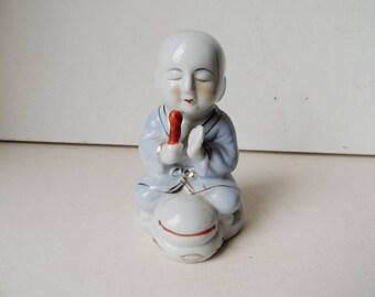 Porcelain Buddhist Little Monk