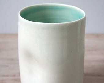 Indented Tall Cloud and Glacier Tumbler