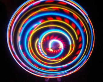 SALE!!  - Hybrid LED Hula Hoop - El Tigre